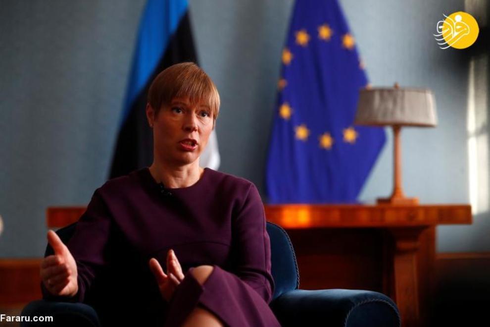 کرستی کالیولاید رئیس جمهور استونی، شروع کار از 10 اکتبر 2016