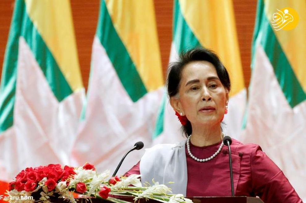 آنگ سان سوچی رهبر میانمار، شروع کار از 6 آوریل 2016