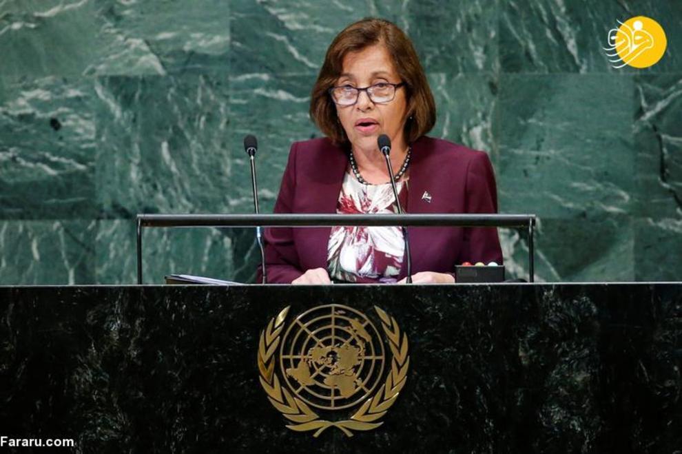 هیلدا هین رئیس جمهور جزایر مارشال، شروع کار از 28 ژانویه 2016