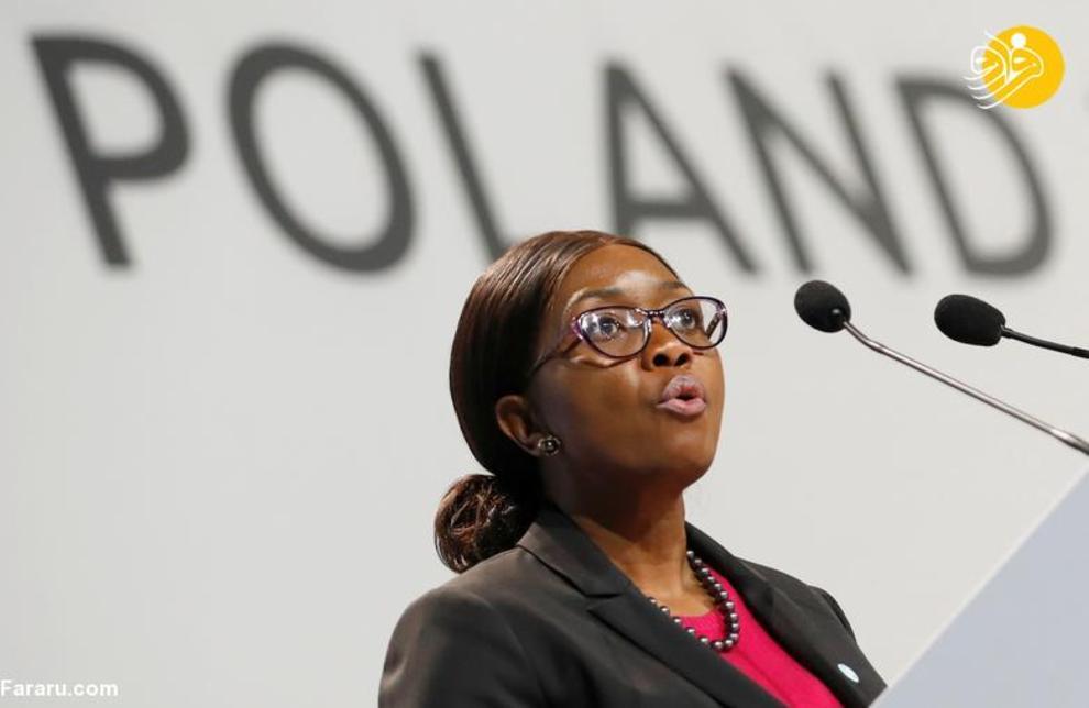 سارا کوگونگلوا نخست وزیر نامیبیا، شروع کار از 21 مارس 2015