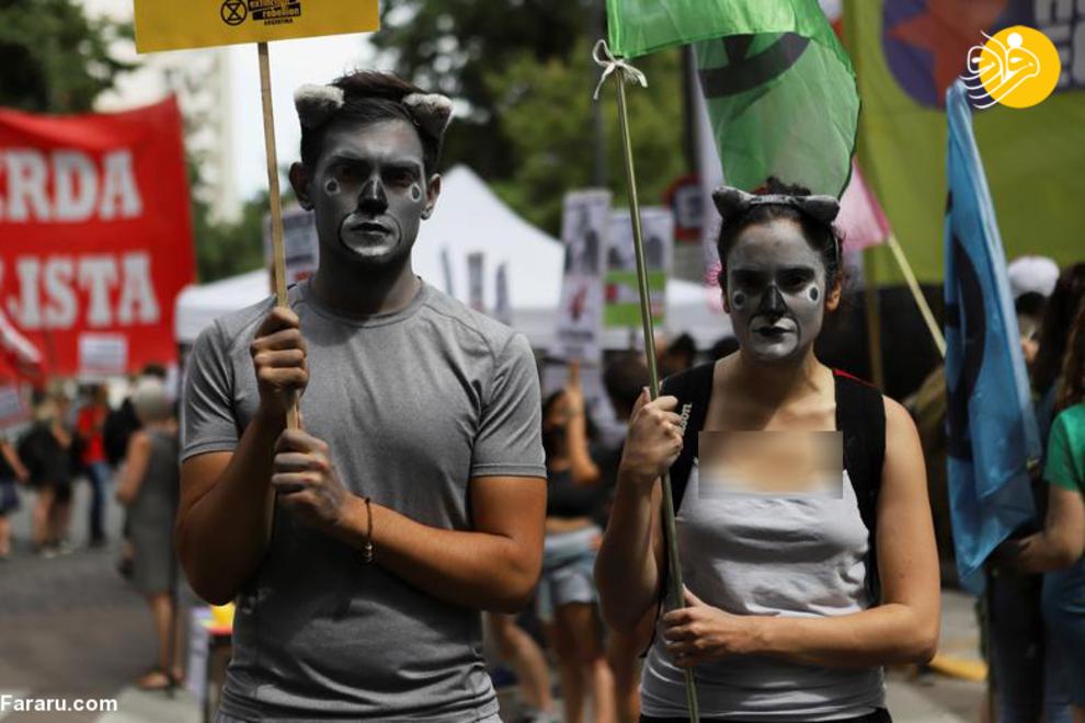 اعتراض به آتشسوزیهای وسیع در استرالیا+ تصاویر
